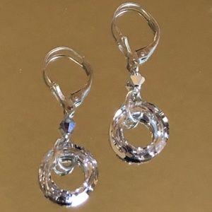 Authentic Swarovski Crystal Sphere Earrings